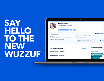 WUZZUF Revamp — The New WUZZUF