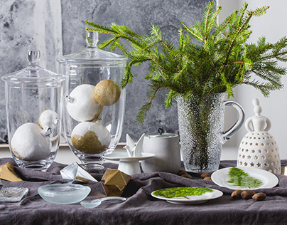 CHRISTMAS TABLE for Dar Store//