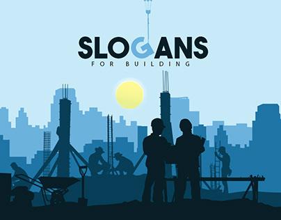 Slogans for building