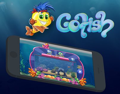 GO FISH - ANDROID GAME UI/UX