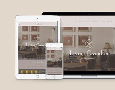 Living Crandon · Web Design