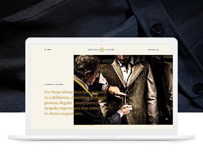 Regalia Luxury Website