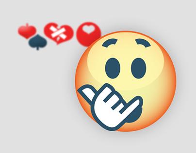 emoticon set / for volumeet social chat