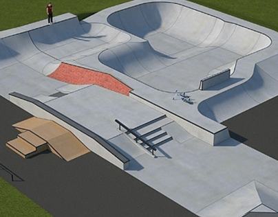 Working With A Client- Skatepark Layout