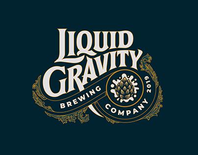Liquid Gravity Brewing Company Logotype