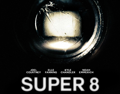 SUPER 8 / fan art poster