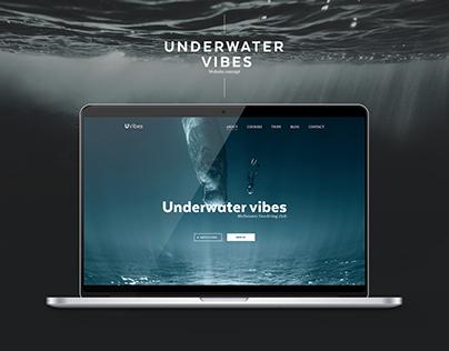 Underwater vibes. Freediving school