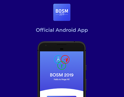 BOSM '19 Android App