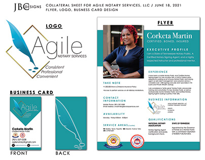 Collateral Sheet for New Business