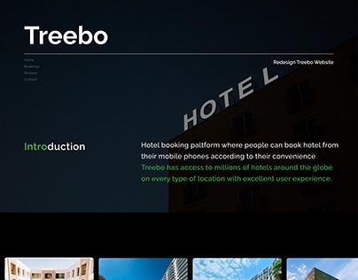Treebo - Website Re-Design