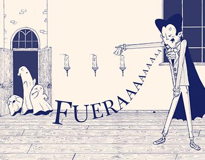 Ramiro y sus Fantasmas | Book Illustrations