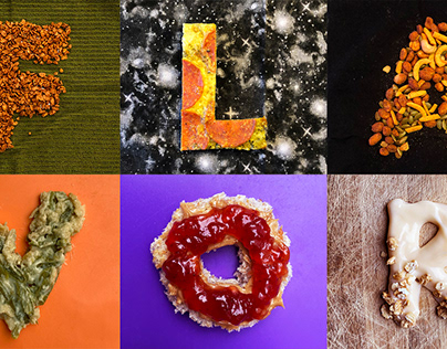 Flavor - Food Typography Project