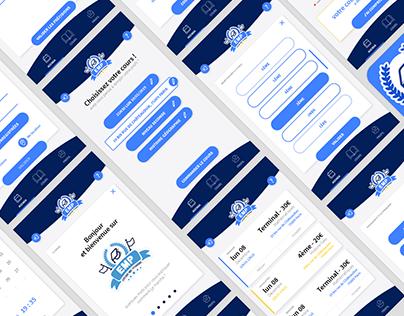 EMP - application mobile