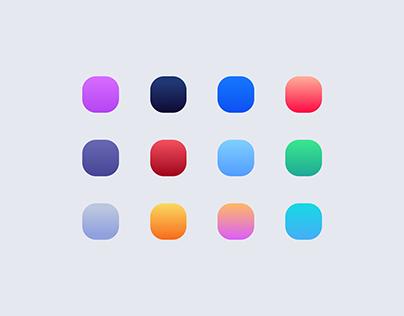 iOS App icons digest