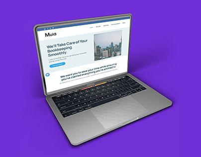 muiaconsulting.com   web design   logo design