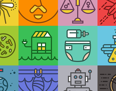 Popular Science Blog Icons
