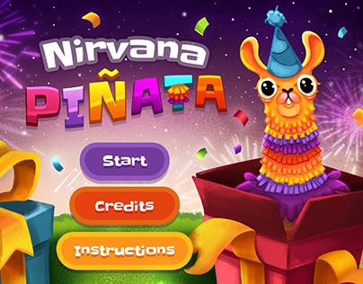 Nirvana Piñata Game