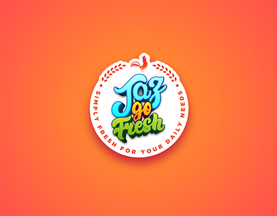 Jaz Go Fresh - Complete Branding for Grocery