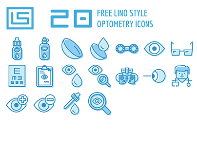 20 FREE Vision Care Icons