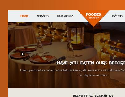 FoodEx | Free Restaurant Template