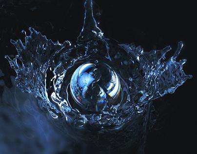 RealFlow Water Splash