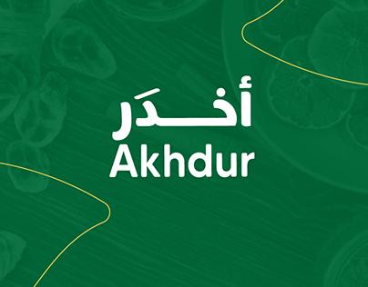 Akhdur Logo Design