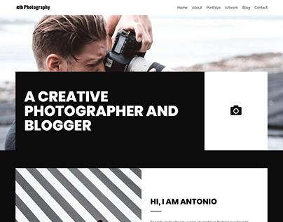 Blogger, Photography WordPress | Service website