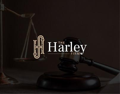 The Harley Law Firm   Logo & Visual Identity