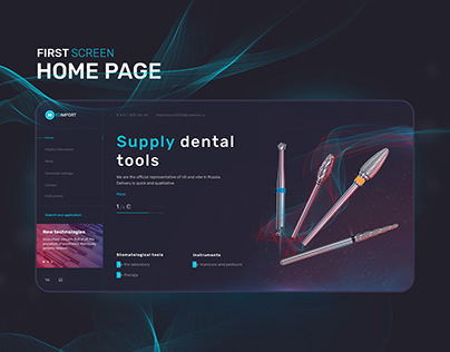 ArtFactor: Website for Medimport