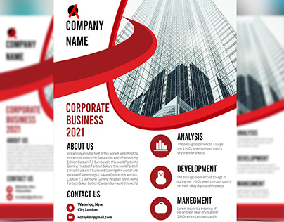 corporates business FLYER 2021