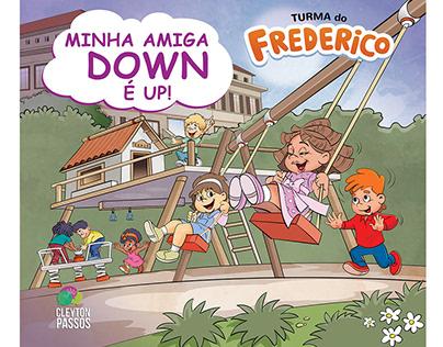 capa livro infantil Turma do Frederico