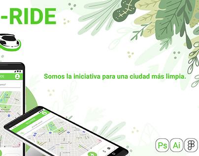 ECO-RIDE / Diseño UX-UI