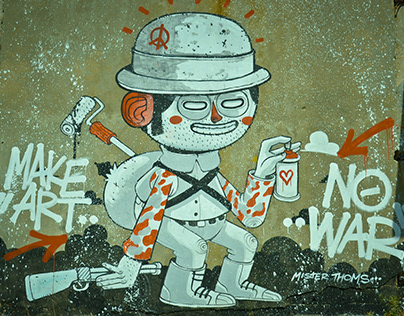 """""""Make Art No War"""""""