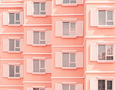 粉粉的建筑