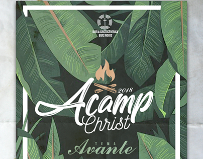 Cartaz Acamp Christ 2018