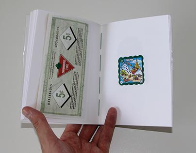 Artist's book: Nuancier d'Anectotes