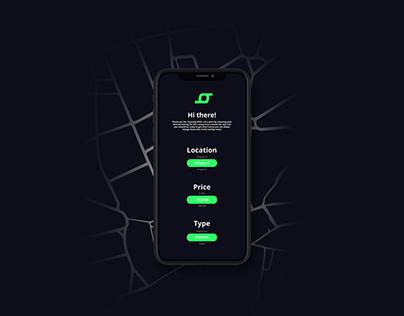 BOD - app concept design