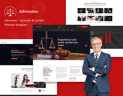 Advocatus - Lawyer & Attorney HTML Template