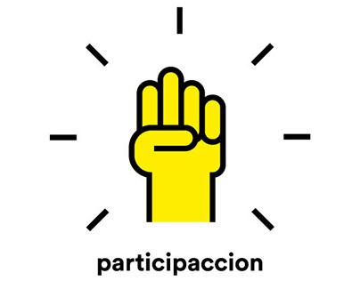 Participación – diseño página web