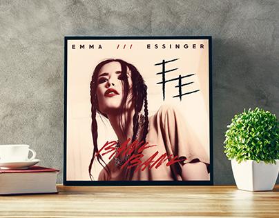 Emma Essinger - Singelomslag Logo & typografi