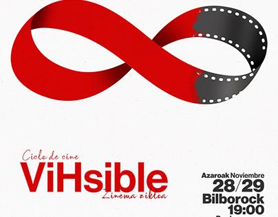 """Gráfica """"Ciclo de cine ViHsible"""""""