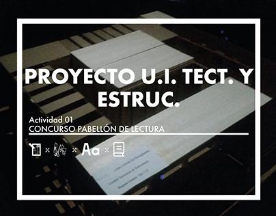 CC_UI TECTÓNICA Y ESTRUCTURA_Concurso Pabellón_201701