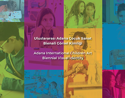 International Children Art Biennial Visual Identity