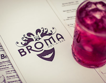 Broma Not-A-Bar Menu