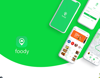 foody , food delivery application design