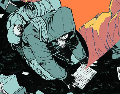 Strassen feger Comics