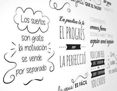 Inspirational wall | Wall painting