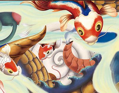 十二生肖 锦鲤