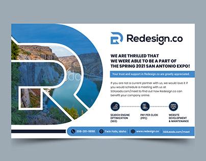 Amazing design of a Half page Magazine Ad