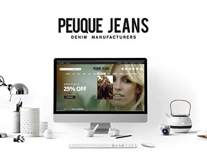 Peuque Jeans / Web